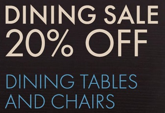 20% Off Dining Tables U0026 Chairs