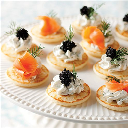 Toasting hogmanay and ny recipes to absent friends food for Le canape maker