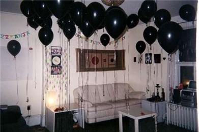 Black Golden Silver Ahem For Sure It Isn T A Birthday Bash No Offence If I M Dressed Up Like Christmas Tree But The Living Room Couldn Be
