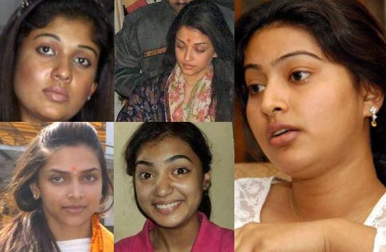... , Kollywood, Tollywood actresses sans makeup!  Nayantara Movies