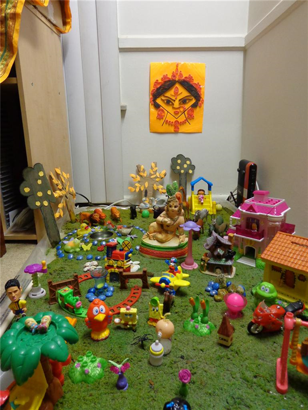Attractive Golu Theme Ideas And Decoration Part - 8: Crafting Navaratri Golu Ideas Themes - Local Pulse - Indian Articles U0026 News