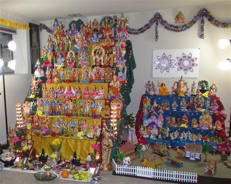 Rituals during First Day of Navaratri Worship