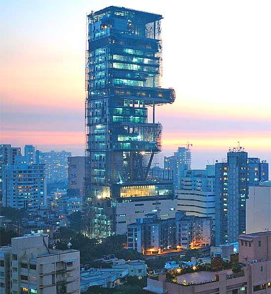 Billion Dollar Home Antilia Local Pulse Indian Articles News