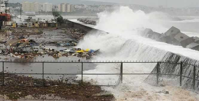 Syed Akbar Journalist Cyclone Hudhud The bird storm in