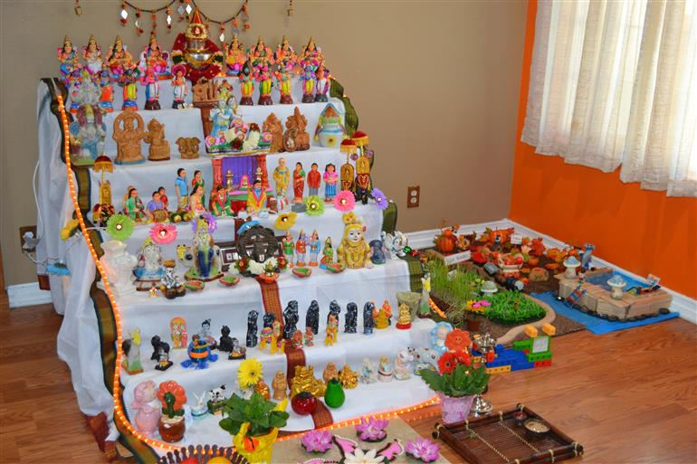 Golu 2015 culture indian events articles for Navratri decorations at home