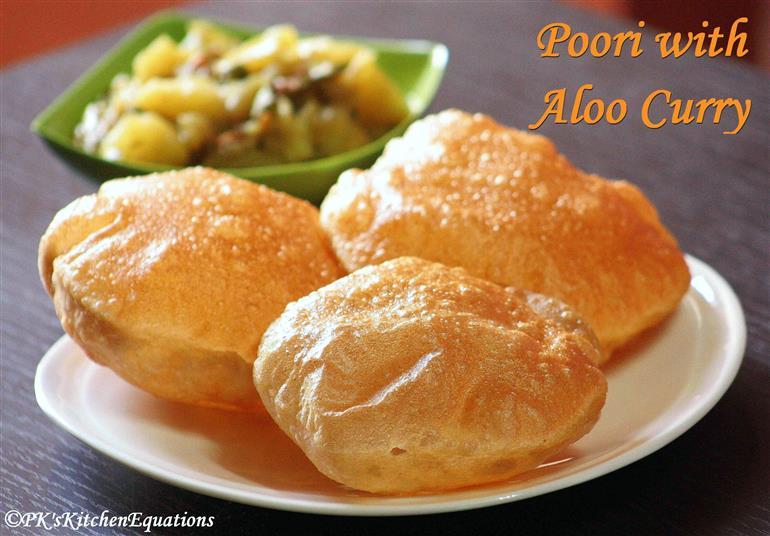 Poori (Indian puffed fried bread) - Food & Recipes