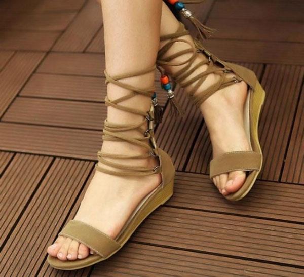 Cheap Casual Flat Feet Shoes Elegent Comfort Women Casual Shoes
