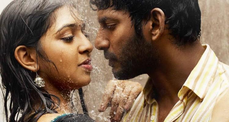 Lakshmi Menon Denies Her Romantic Relationship With Vishal ... Naan Sigappu Manithan Lakshmi Menon Lip Lock