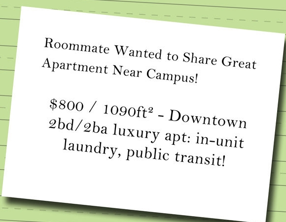Roommate wanted phoenix