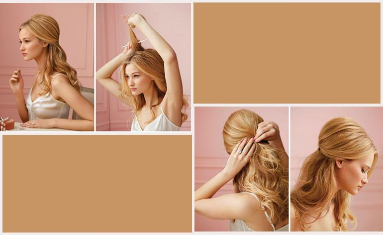 10 Quick Hairstyles For Your Night Party Fashion Styles