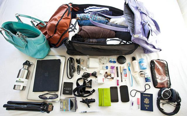 Skinny 20 kg packing lists for Caribbean cruise travel in Louisiana, LA