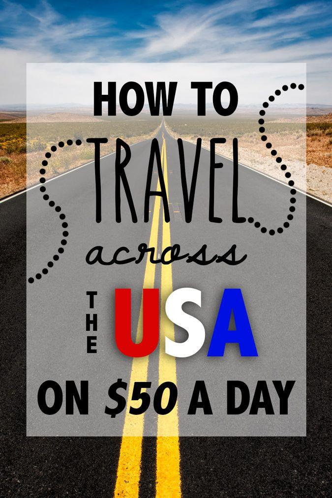 How to travel cheap across the USA in New Jersey, NJ