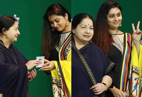 Actress namitha now part of the aiadmk entertainment altavistaventures Image collections