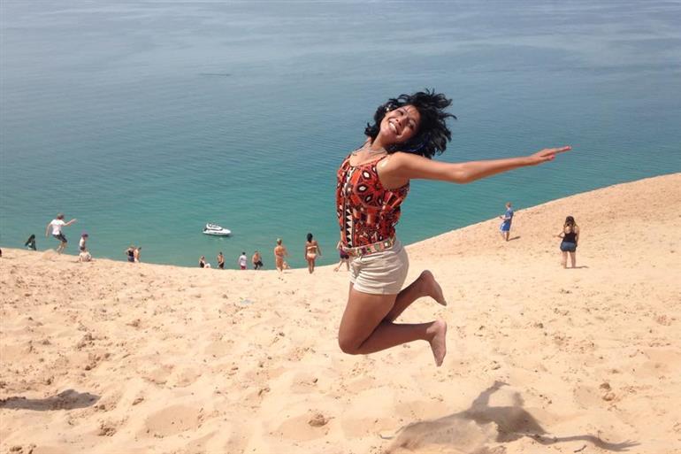 Things to do in Michigan: Sand Dunes and Cherries in Michigan, MI